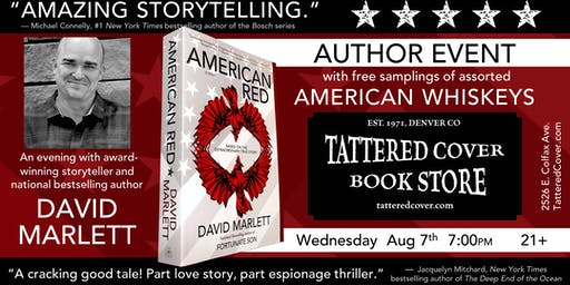An Evening with David Marlett, Book Talk, Signing, & Whiskey Tasting
