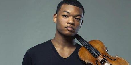Randall Goosby, violin tickets