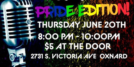 Open Mic Night - Pride Edition tickets