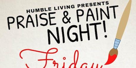 Praise & Paint tickets