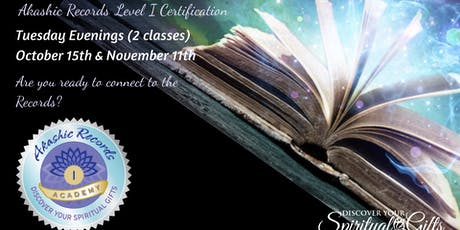 Akashic RecordReader Practitioner Level I Certification (1 of 2) tickets