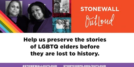 Stonewall OutLoud: Story Share and Record tickets