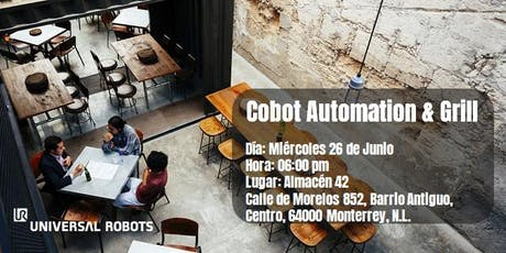 Cobot Automation & Grill tickets