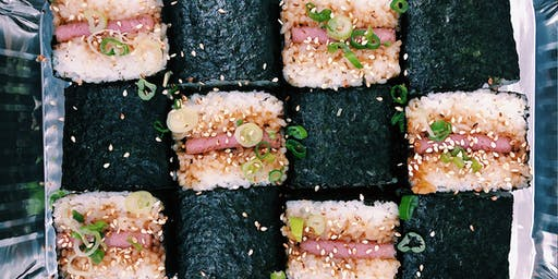 DELICIOUS LITTLE TOKYO: Spam Musubi Workshop with Aloha Cafe