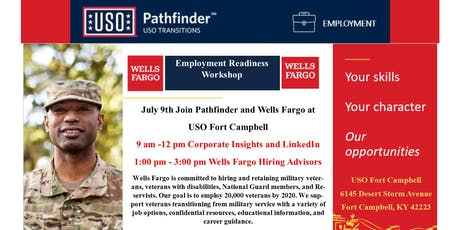 Employment Readiness with Wells Fargo tickets
