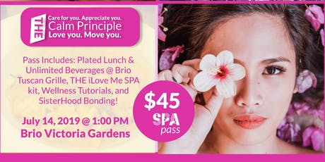 Lunch SPA (Scheduled Personal Appreciation) tickets