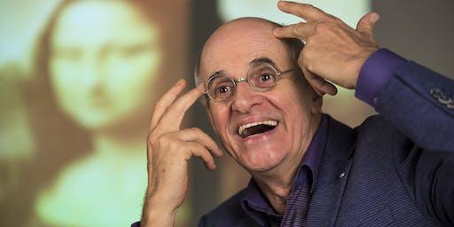 Marcos Caruso em O Escândalo Philippe Dussaert | Teatro Adulto | Sesc Ijuí