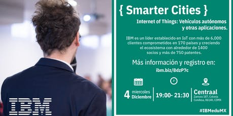 { Smarter Cities } D-Talk by IBM tickets