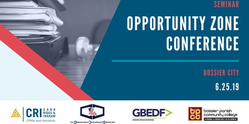 [BOSSIER CITY, LA] Opportunity Zone Conference