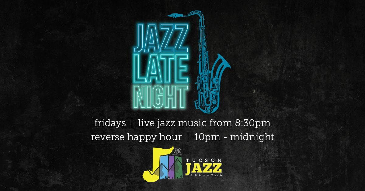 Jazz Late Night with Al Rodriguez banner