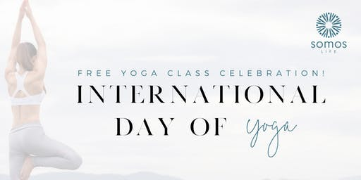 International Day of Yoga - Free Class Celebration Event!