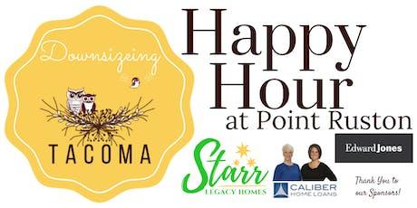 Downsizing Tacoma Happy Hour tickets