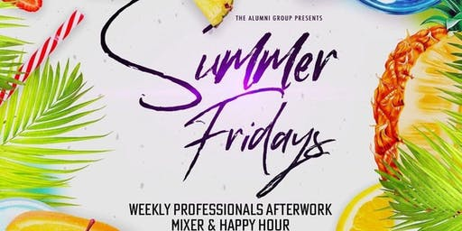 Summer Friday Afterwork Happy Hour Party