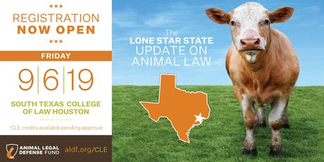 The Lone Star State Update on Animal Law 2019  tickets