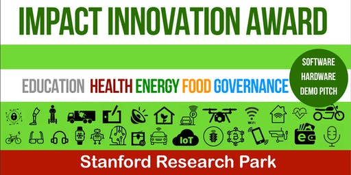 Impact Innovation Startup Award 2019