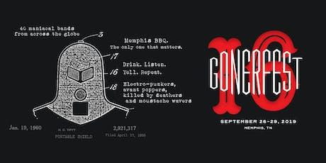 Gonerfest 16 tickets