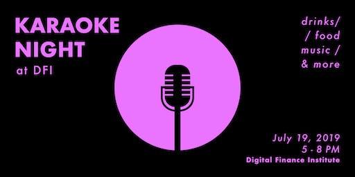 Karaoke Night at Blockchain House