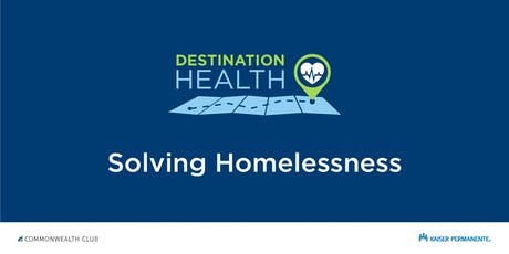 Destination Health: Solving Homelessness tickets