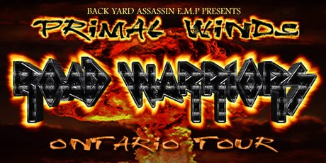 "Primal Winds ""Road Warriors"" Tour Ottawa tickets"