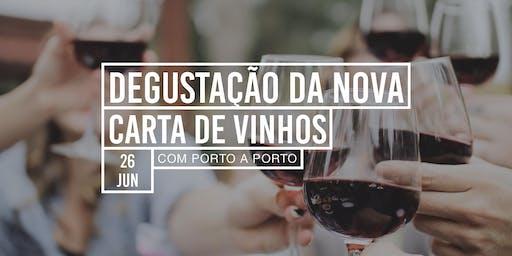 DEGUSTAÇÃO DA NOVA CARTA DE VINHOS DA CASA DESTEMPERADOS