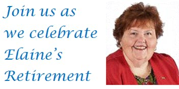 You're Invited to a Retirement Luncheon for Elaine Bergeron