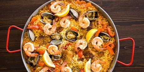 Learn to make Spanish Paella with Chef Jerry tickets