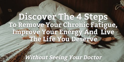 Remove Your Chronic Fatigue So You Never Feel Lonely Ever Again **FREE**