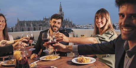 LiveCooking Paella in hidden rooftop tickets