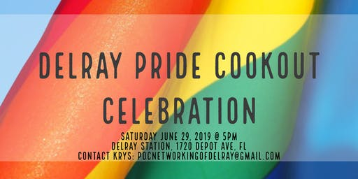DELRAY PRIDE COOKOUT CELEBRATION
