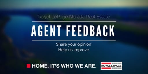 Agent Feedback Session July 2019