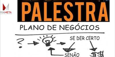 PALESTRA: PLANO DE NEGÓCIO