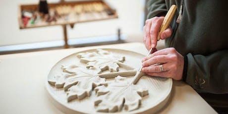 Atelier avec le sculpteur Phil White // Workshop with sculptor Phil White entradas