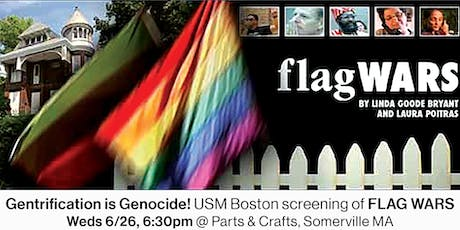 "Screening of ""Flag Wars"" tickets"