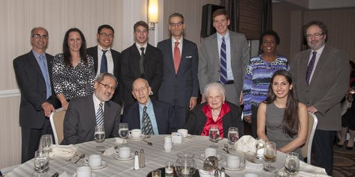 IES Brain Research Foundation Fall Dinner in honor of the 95th birthday of Dr. Eric Simon, the inspiration for this Foundation