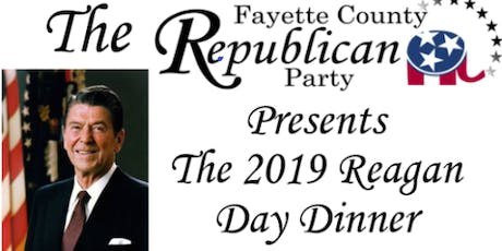 Fayette County Reagan Day Dinner 2019 tickets