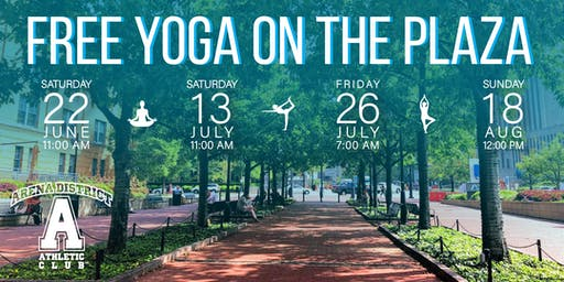 Yoga on the Plaza
