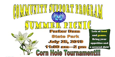 Clearfield and Jefferson Community Support Program Summer Picnic tickets