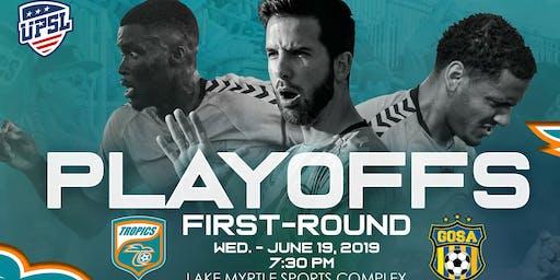 Tropics SC UPSL Playoff Round 1