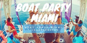 Ultra Party Boat Miami - Unlimited drinks included