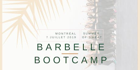 Barbelle Bootcamp SUMMER OF SWEAT Montréal billets