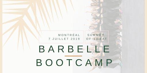 Barbelle Bootcamp SUMMER OF SWEAT Montréal