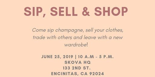 Sip, Sell and Shop