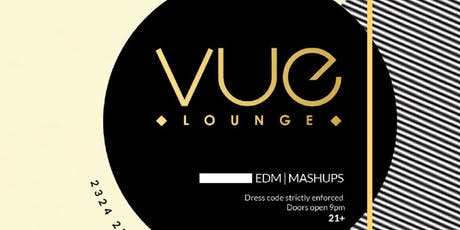 Vue Fridays at Vue Free Guestlist - 8/09/2019 tickets