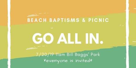 Beach Baptisms tickets