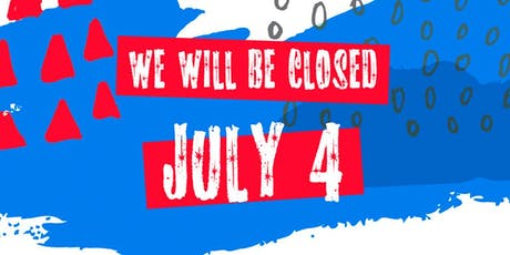 ***Closed for 4th of July*** tickets