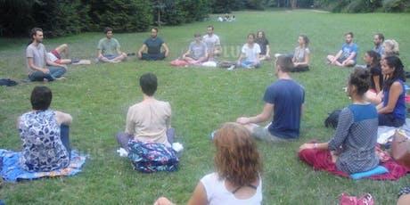 Méditation au parc, pleine conscience en nature tickets