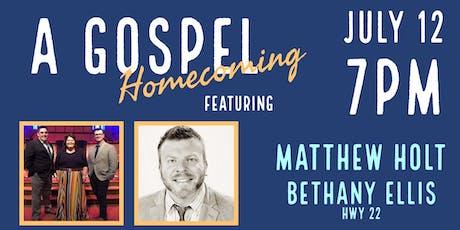 A Gospel Homecoming tickets