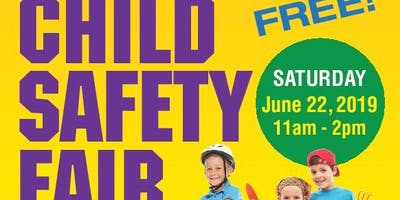 Child Safety Fair at the Harris Plaza