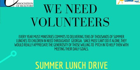 Summer Lunch Drive  tickets