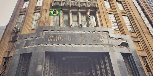 Visita do edificio art déco Banco de São Paulo